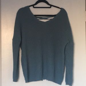 Sweaters - Cozy braided sweater.